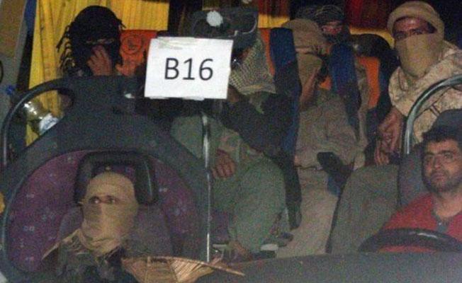 Koalisyon uçakları Lübnan'dan tahliye edilen IŞİD konvoyunu engelledi