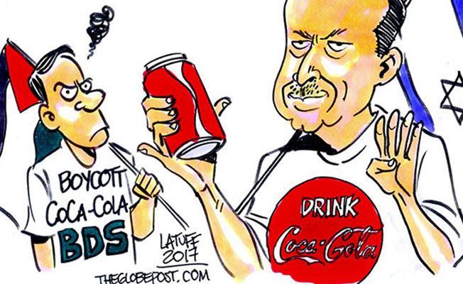 Latuff çizdi: Coca Cola'nın Türkiye'deki yeni reklam yüzü Erdoğan