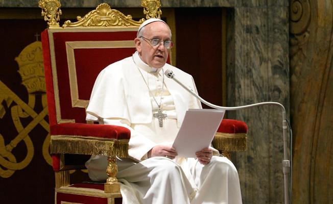 Papa Francis: Mülteci hakları milli güvenlikten önemlidir