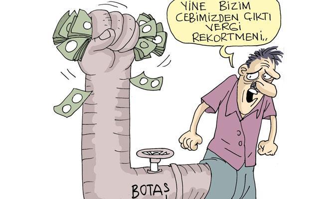 Sefer Selvi çizdi: Halktan gizlenen vergi rekortmeni BOTAŞ