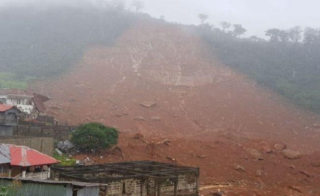 Sierra Leone'de toprak kayması: Can kaybı artıyor