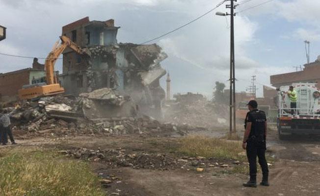 Sur'da yıkım: Alipaşa Mahallesi'nin yüzde 80'i yıkıldı