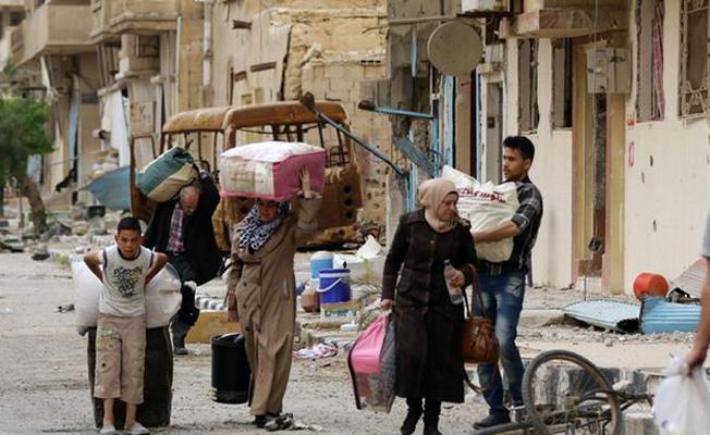Suriyeliler evlerine geri dönüyor
