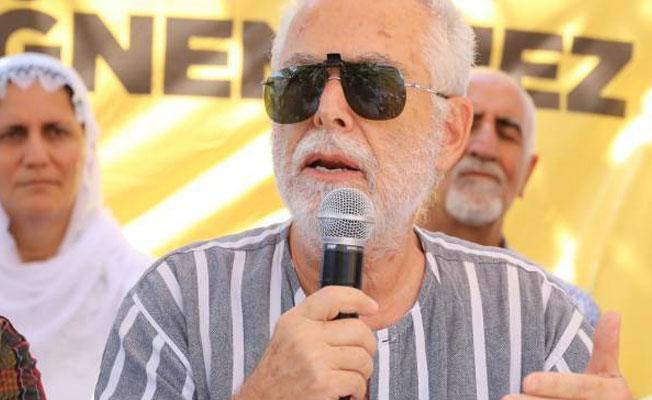 Vicdan ve Adalet Nöbeti'ni ziyaret eden Baskın Oran: Tarih HDP'nin eylemini altın harflerle yazacak