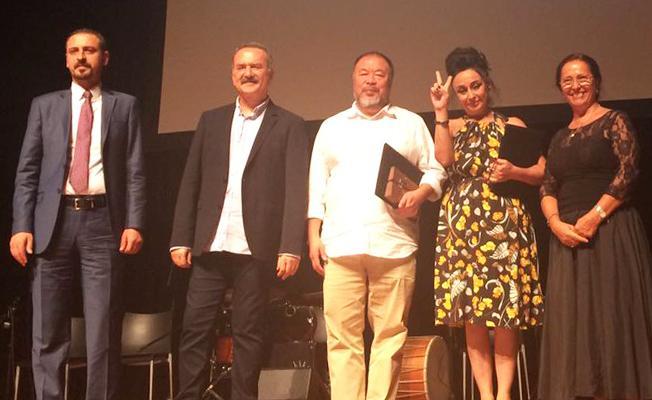 9. Hrant Dink Ödülü'nü Eren Keskin ve Ai Weiwei aldı