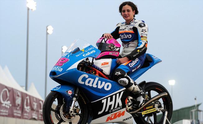 Ana Carrasco, motosiklet dünya şampiyonasında yarış kazanan ilk kadın sürücü oldu
