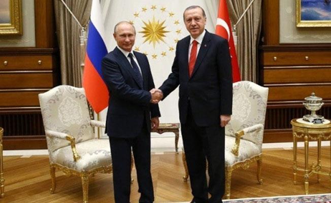 Erdoğan: Irak ve Suriye'nin toprak bütünlüğü konusunda Putin ile hemfikiriz