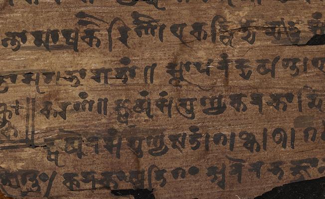 Eski Hint metnine göre '0'ın tarihi 500 yıl geriye çekildi