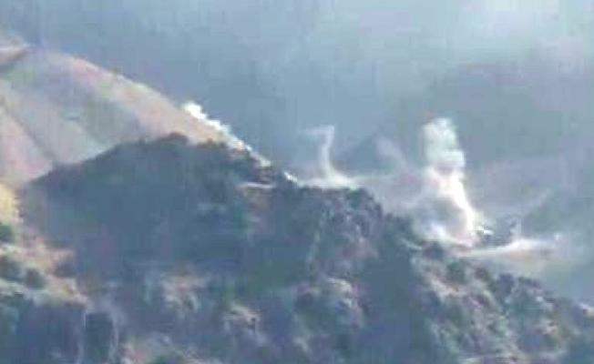 İran'dan Erbil kentine bağlı dağlık bölgeye top atışları