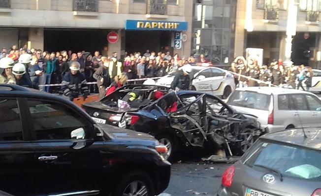 Kiev'de patlama: 1 ölü, 2 yaralı