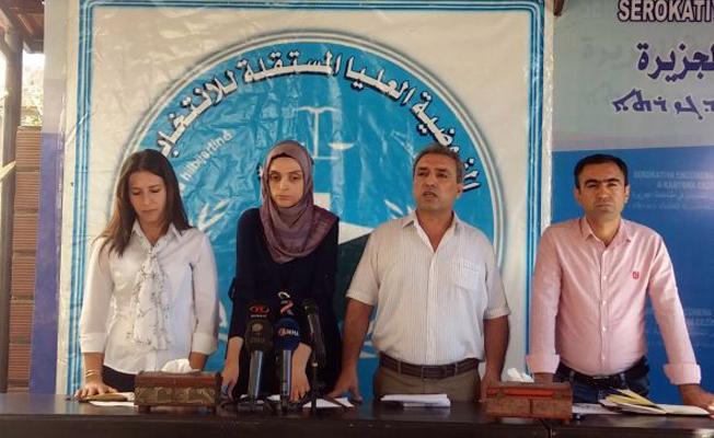 """""""Kuzey Suriye"""" seçim sonuçları açıklandı"""