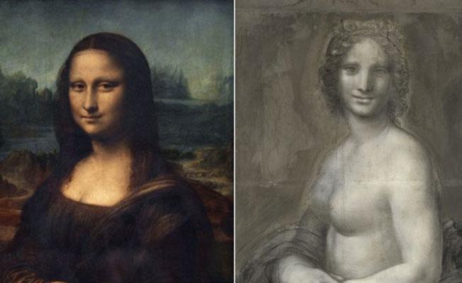 'Mona Lisa'nın nü taslağı' Fransa'da bulundu