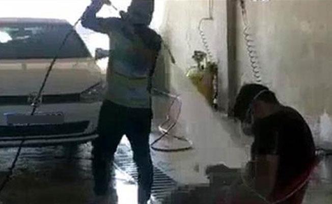 Sivas'ta patron, çalışanını sandalyeye bağlayıp tazyikli suyla 'yıkadı'