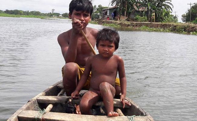 UNICEF: Güney Asya'da 16 milyon çocuk yardıma muhtaç