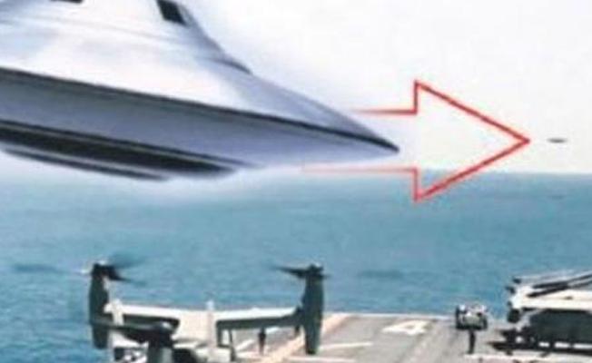 'ABD donanmasının UFO olarak adlandırılan bilinmeyen uçan bir cisimle karşılaştı'