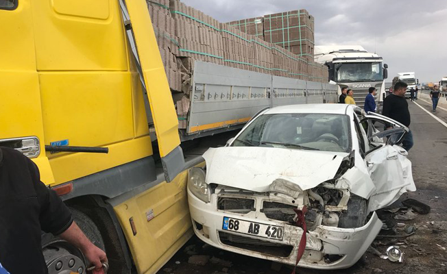 Aksaray'da zincirleme kaza: Ölü ve yaralılar var