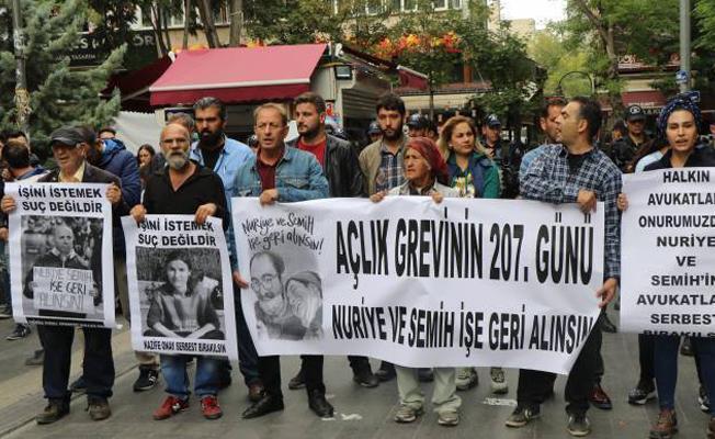 Ankara Yüksel Caddesi'nden 327. sesleniş: İşimizi geri istiyoruz
