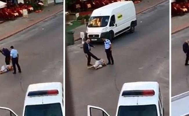 Antalya'da Kırgız kadını darp eden polis tutuklandı