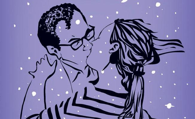 Bayan Yanı'ndan öpüşme kapağı