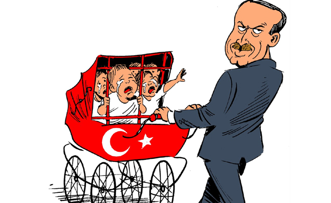 Carlos Latuff cezaevlerindeki 668 bebeği çizdi