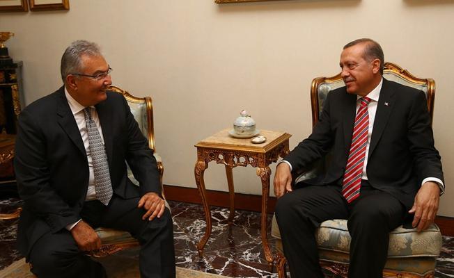 Erdoğan, yoğun bakımdaki Baykal'ı ziyaret etti
