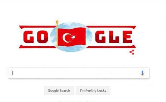 Google'dan 29 Ekim Cumhuriyet Bayramı doodle'ı