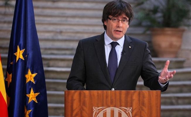 Hakkında yakalama kararı çıkarılan Katalonya Başkanı teslim oldu