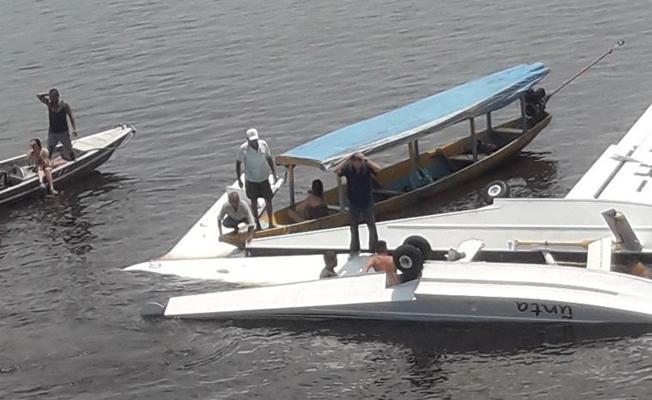 Greenpeace uçağı düştü: 1 ölü, 4 yaralı