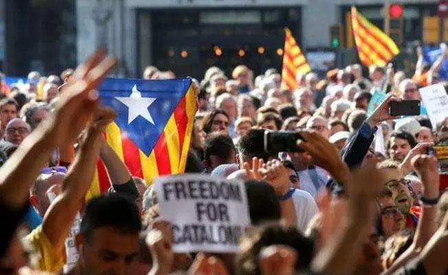 IKBY'den Katalonya'ya destek: Milli iradeye saygı duyulmalı