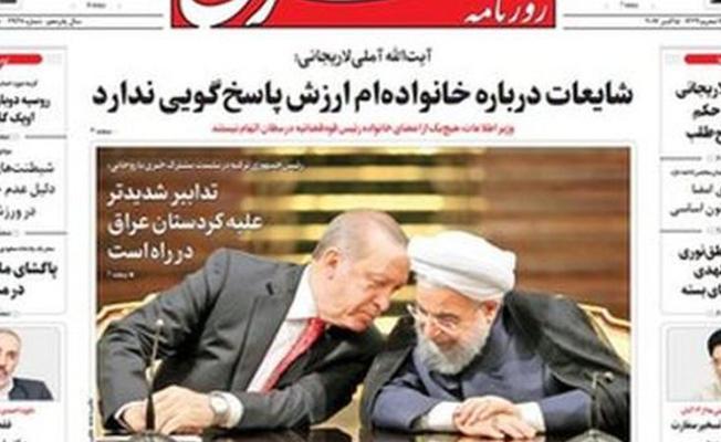 İran basını: 'Irak Kürdistanı'na karşı daha sert önlemler alınacak'