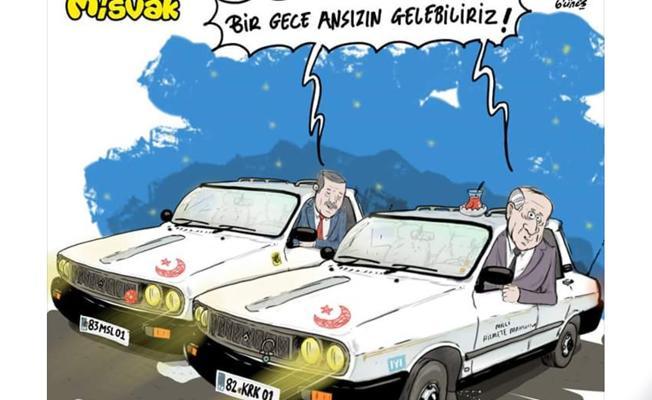 Erdoğan'la Bahçeli 'Beyaz Toros'larda