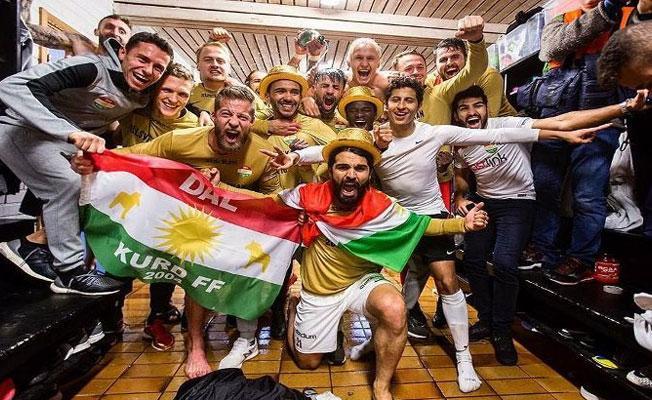 İsveç'te Kürt takımı şampiyon oldu