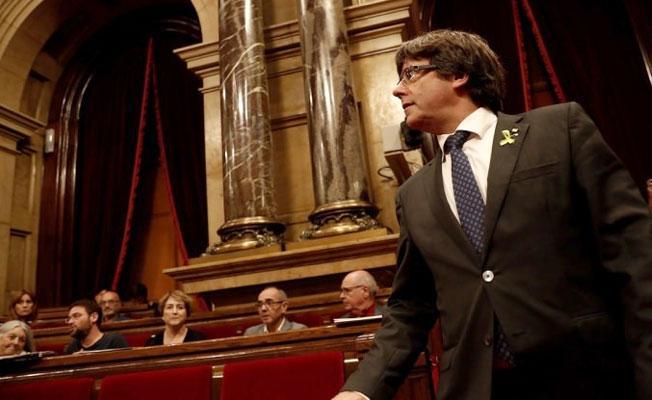 Tutuklanma riski altındaki Katalan lider Puigdemont, Brüksel'de