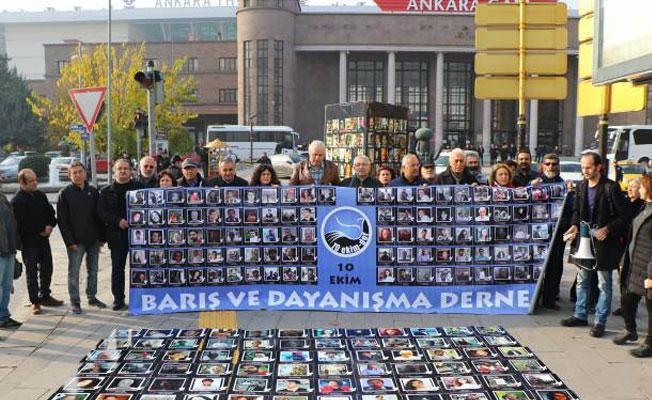 10 Ekim'de hayatını kaybedenler anıldı: Biz yakınlarımızı Türkiye barışını kaybetti
