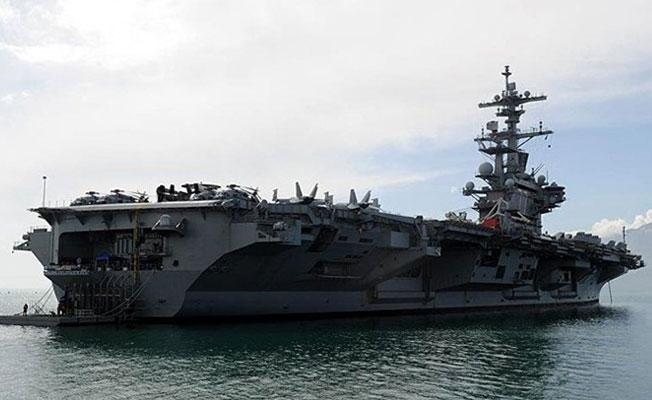 ABD'nin üç uçak gemisi Kore Yarımadası'nın sularına girdi
