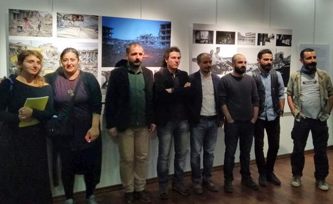 'Akdeniz'de Savaş ve Göç' sergisi açıldı