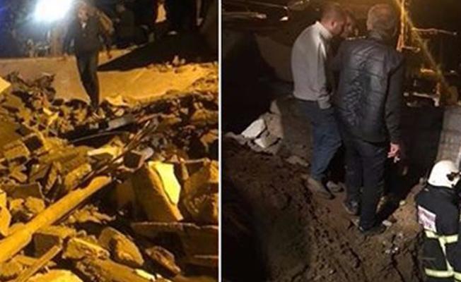 Batman'da aşırı yağıştan dolayı ev çöktü: Ölü ve yaralılar var