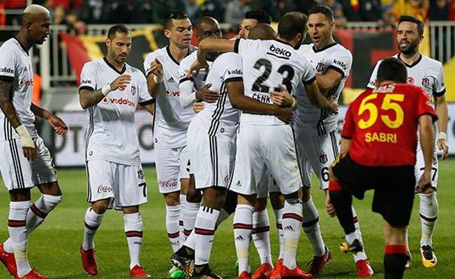 Beşiktaş deplasmanda Göztepe'yi 3-1 mağlup etti