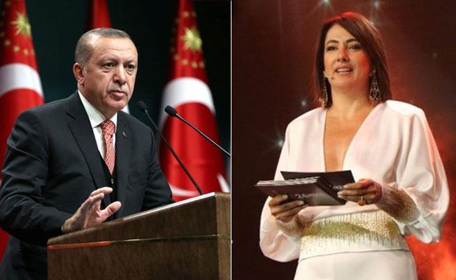 Cumhurbaşkanı Erdoğan'dan Meltem Cumbul'a: Nezaket fukarası