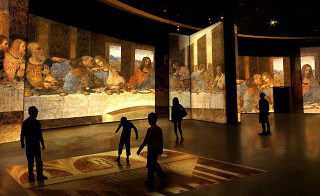 Dünya'nın en büyük Leonardo Da Vinci sergisi İstanbul'da