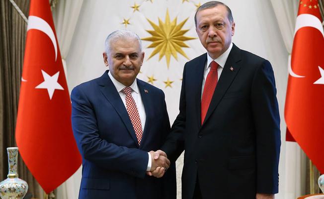 Erdoğan'la Yıldırım'dan sürpriz görüşme