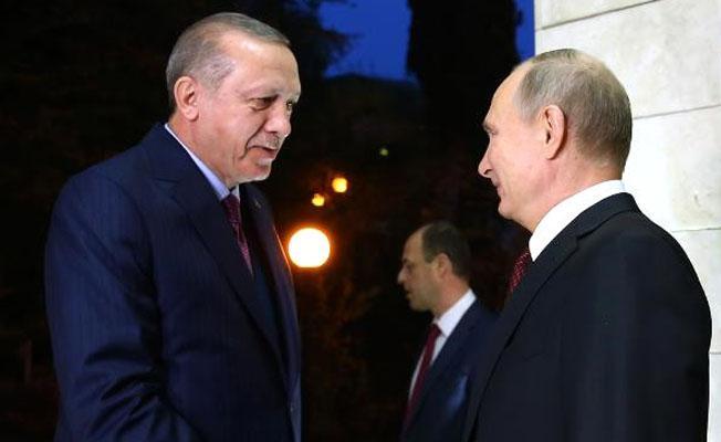 Erdoğan ve Putin Soçi'de görüştü