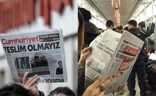 Evrensel ve Cumhuriyet gazetelerine dava