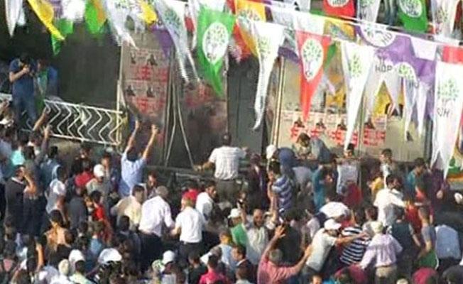 HDP mitingine saldırı, sanık Orhan Gönder takip altındayken düzenlenmiş