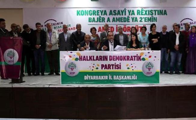 HDP'nin yeni Diyarbakır İl Yönetimi belli oldu