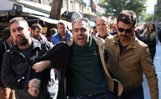 'İşimizi geri istiyoruz' dedi 75 günde 150 defa gözaltına alındı