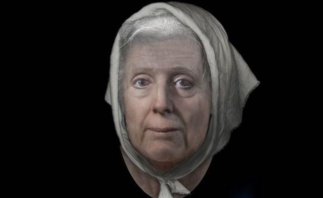 İskoçya'da 300 yıllık 'cadı'nın yüzü canlandırıldı