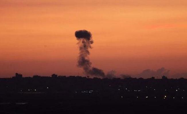İsrail'den Filistin'e hava saldırısı