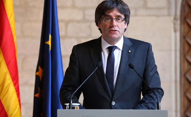 Katalan lider Puigdemont: Bağımsızlık dışı bir çözüm mümkün