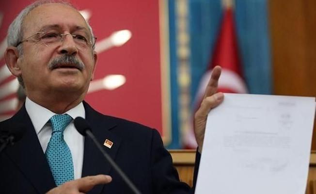 Kılıçdaroğlu Erdoğan'a dekont gösterdi: Haysiyetli bir adamsan gereğini yapacaksın